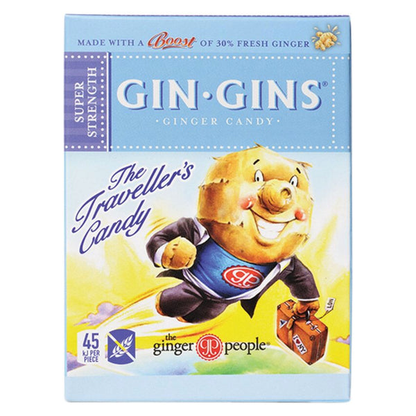 Gin Gins The Travellers Candy