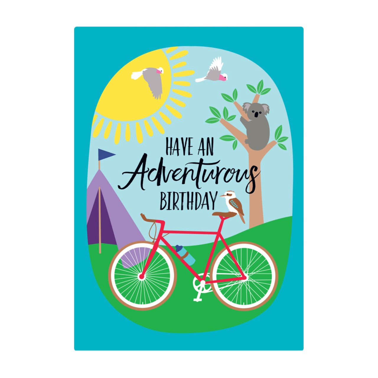 Earth Greetings Card -Adventurous Birthday
