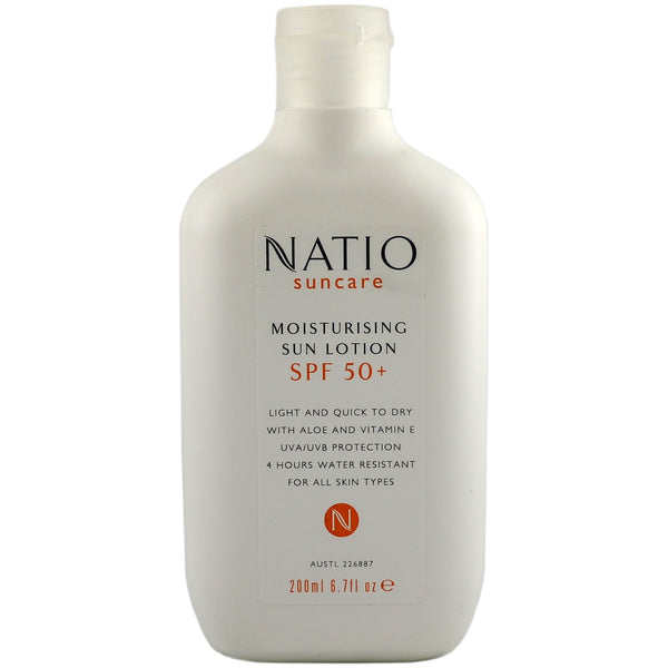 Natio Moisturising Sun Lotion SPF 50