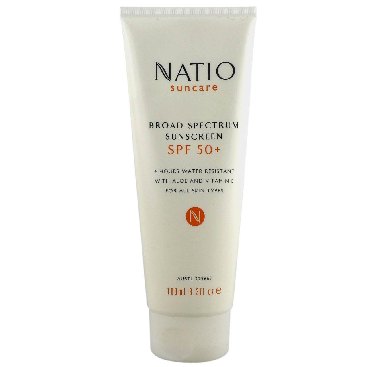 Natio Broad Spectrum Sunscreen SPF50 100ml