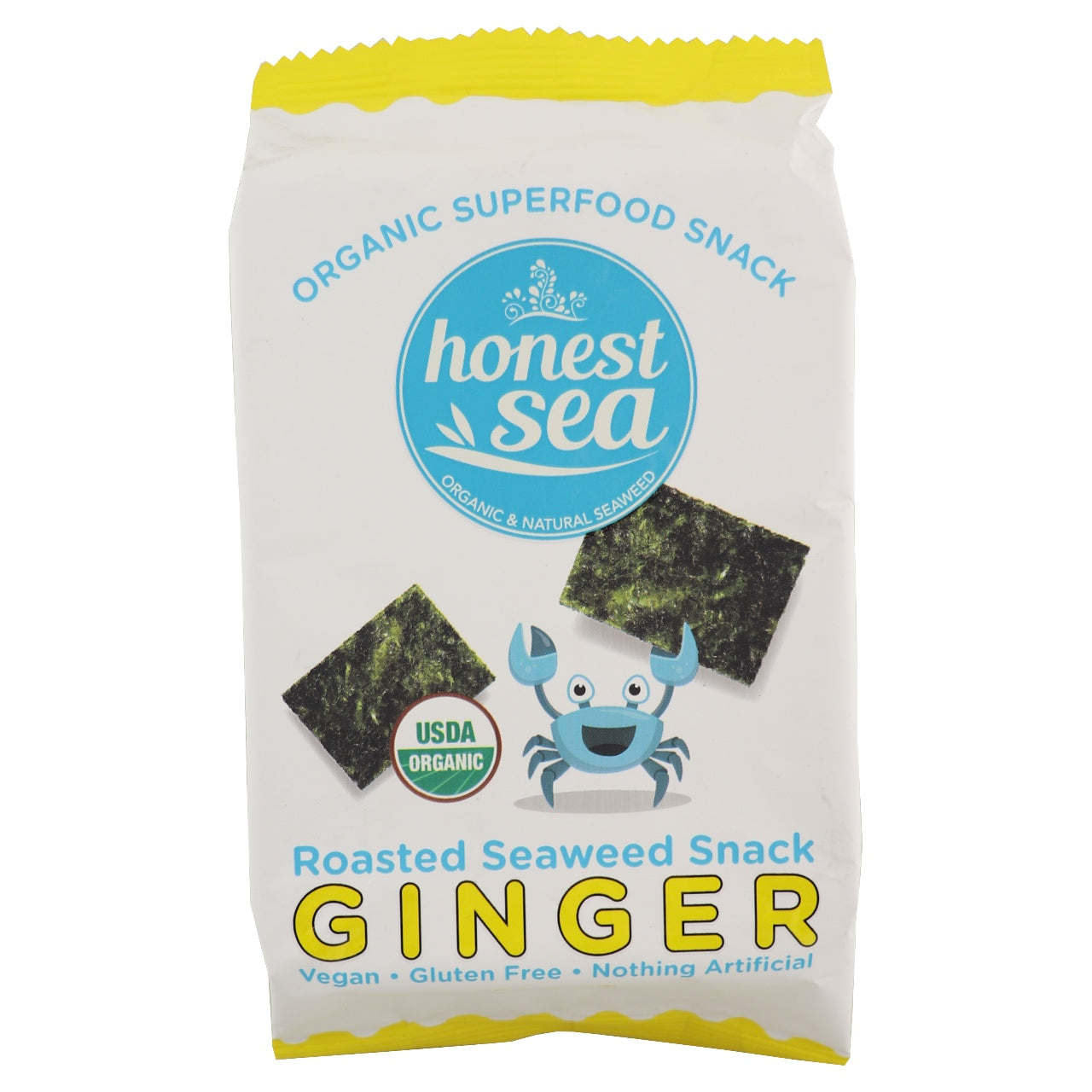 Honest Sea Seaweed Snack -Ginger