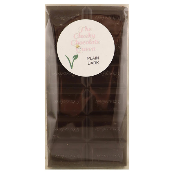 The Cheeky Chocolate Queen Dark Block -Plain