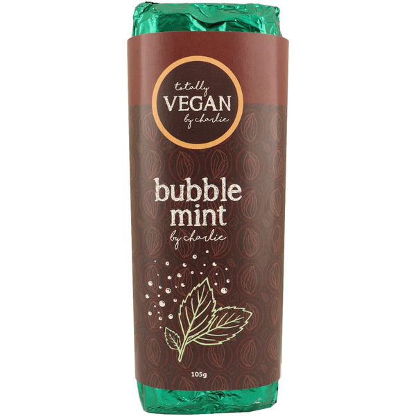 Totally Vegan by Charlie -Bubble Mint Chocolate