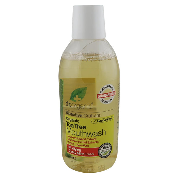 Dr Organic Mouthwash -Tea Tree