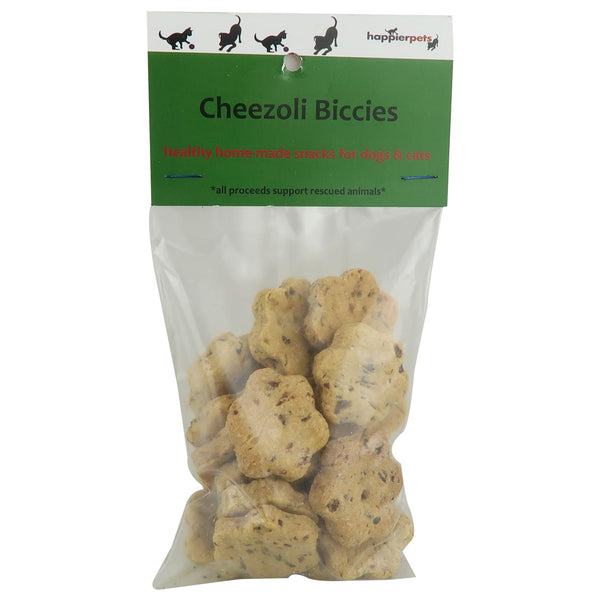 Happier Pets Cheezoli Biccies (Large) for Dogs & Cats