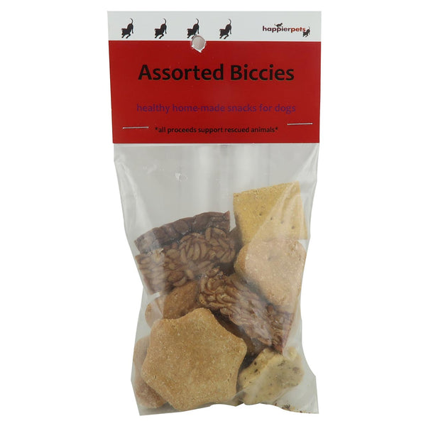 Happier Pets Assorted Biccies (Large) for Dogs