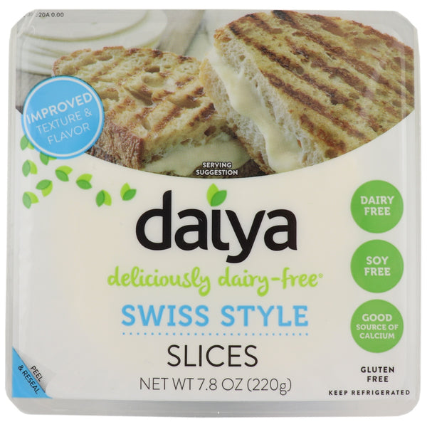 Daiya Swiss Style Slices -Use By 7th March 2019