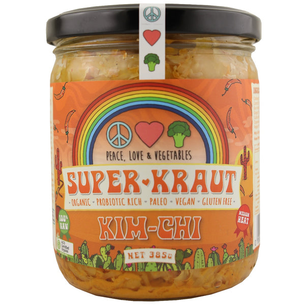 Peace Love & Vegetables Superkraut -Kim Chi
