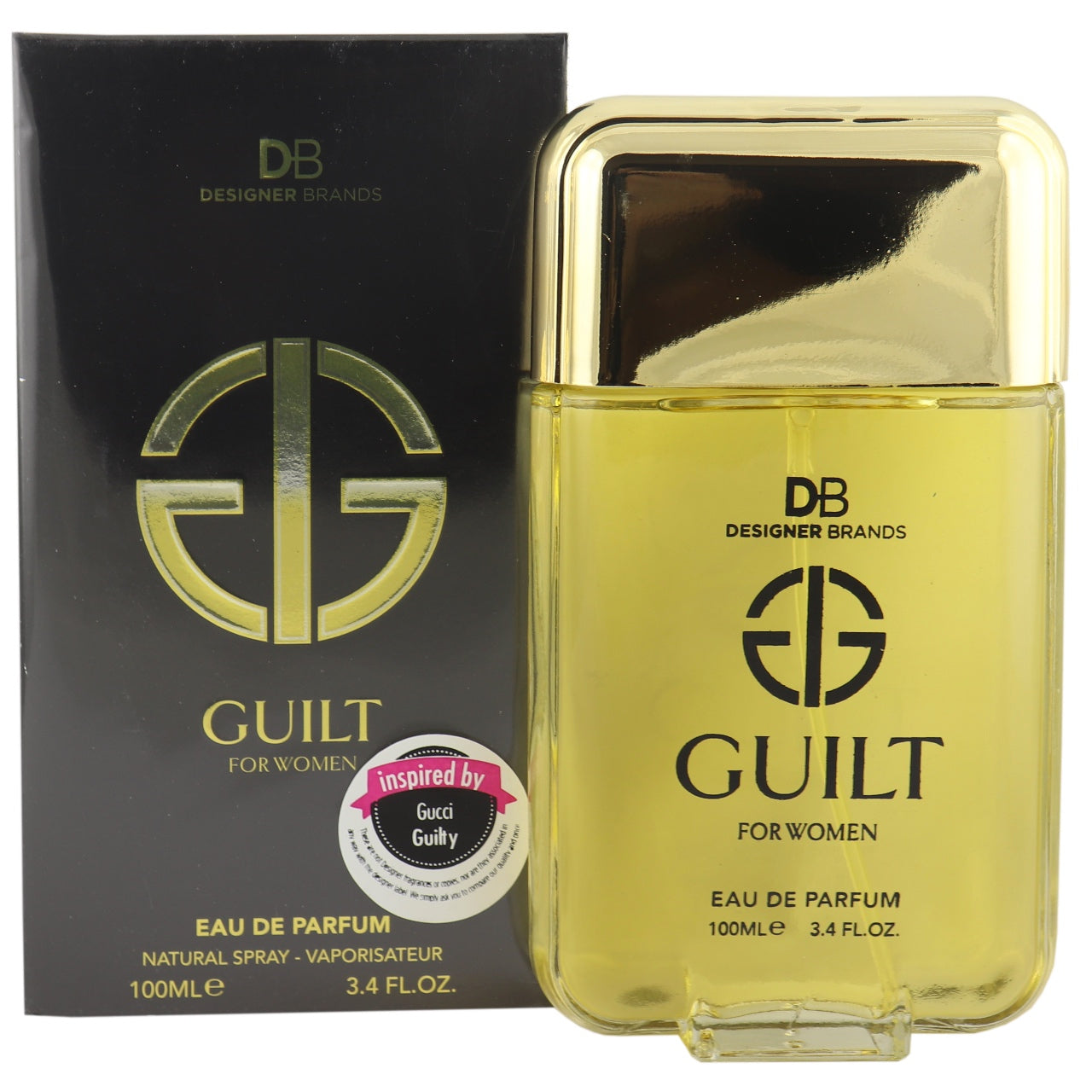 DB Cosmetics Fragrance -Guilt, for Women