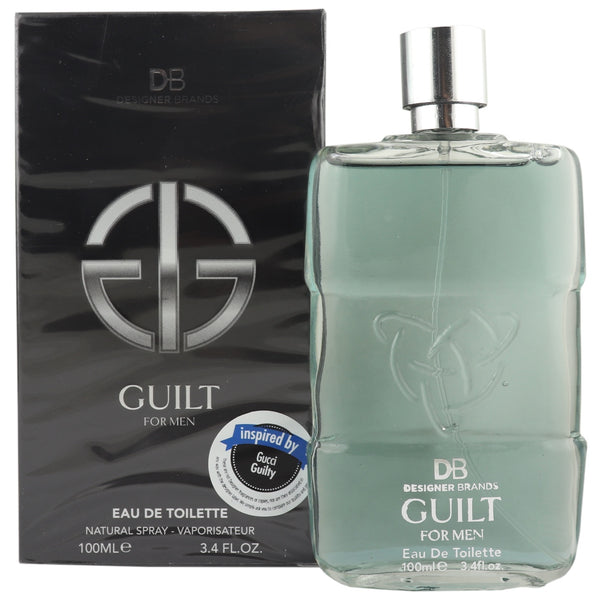 DB Cosmetics Fragrance -Guilt, for Men
