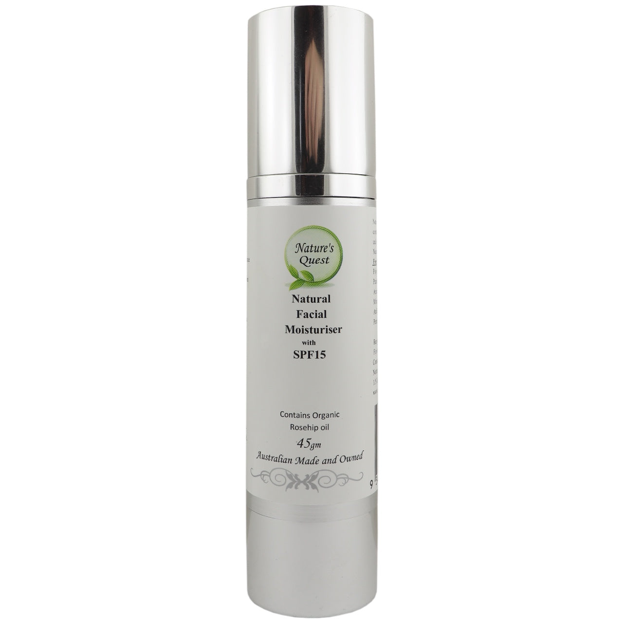 Nature's Quest Facial Moisturiser SPF15