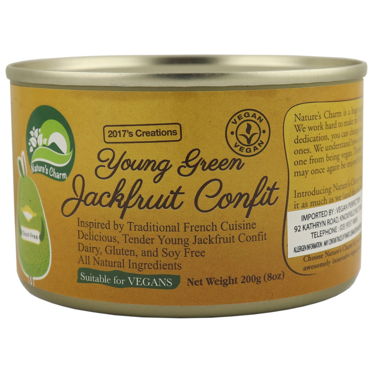 Nature's Charm Young Green Jackfruit Confit