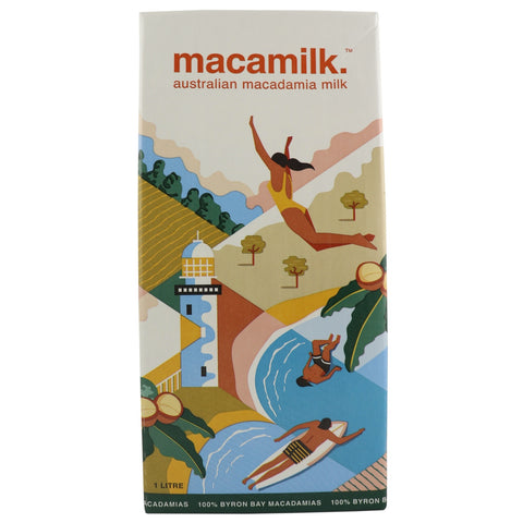 Macamilk Macadamia Milk -Best Before: 23rd November 2018