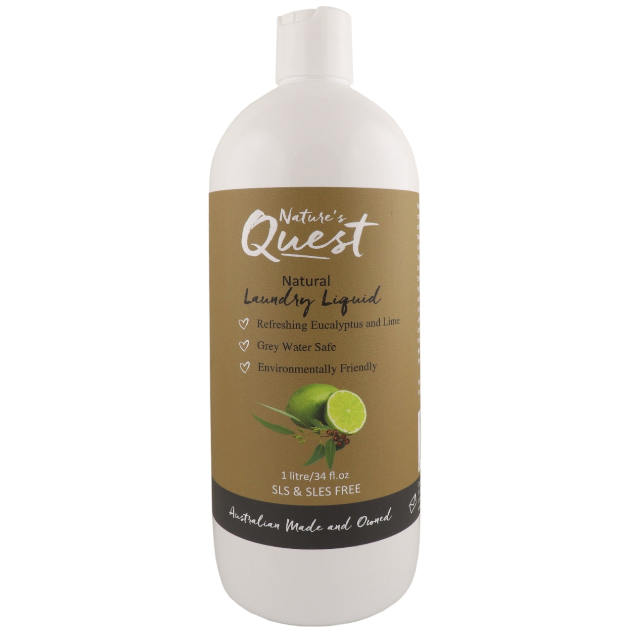 Nature's Quest Laundry Liquid