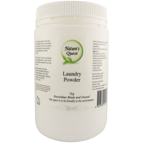 Nature's Quest Laundry Powder