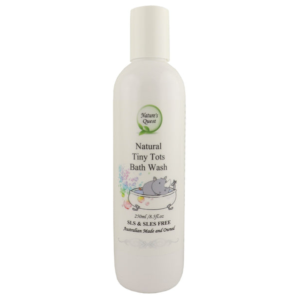 Nature's Quest Baby Bath Wash