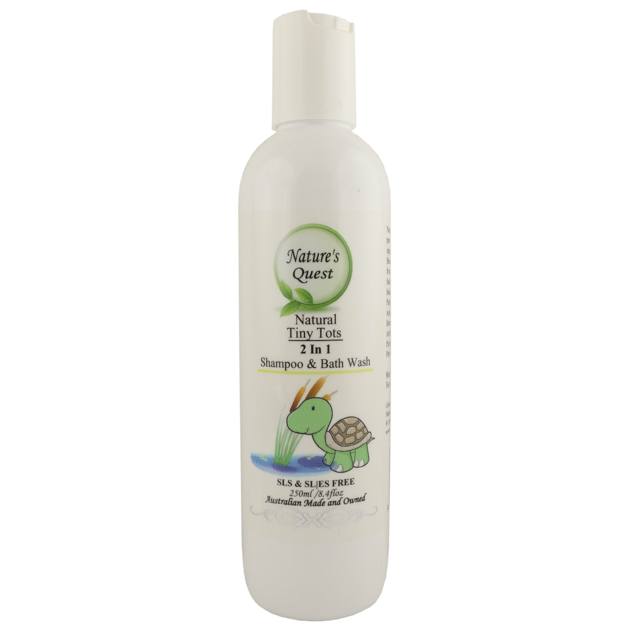 Nature's Quest Baby 2 in 1 Shampoo & Bath Wash
