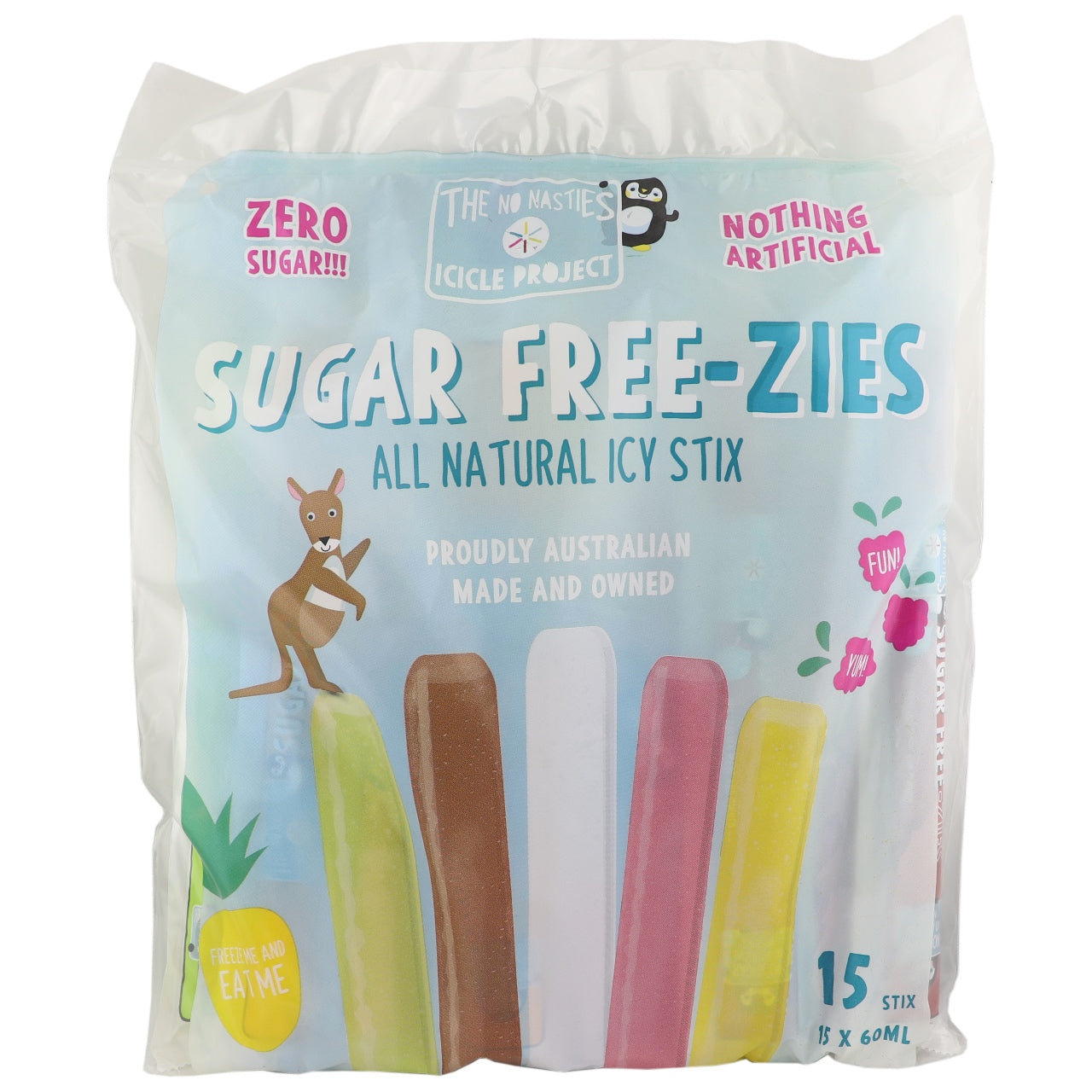 Sugar Free-zies All Natural Icy Stix