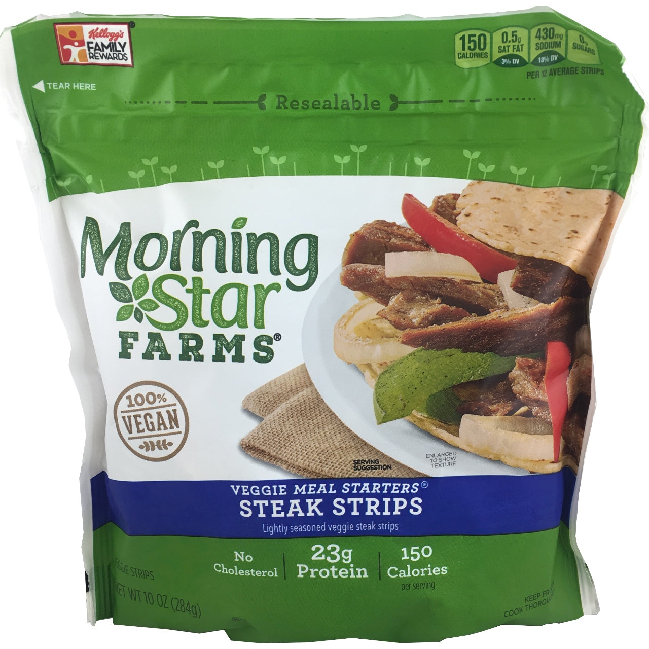 Morning Star Steak Strips