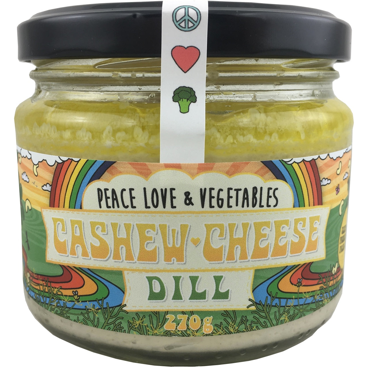 Peace Love & Vegetables Cashew Cheese
