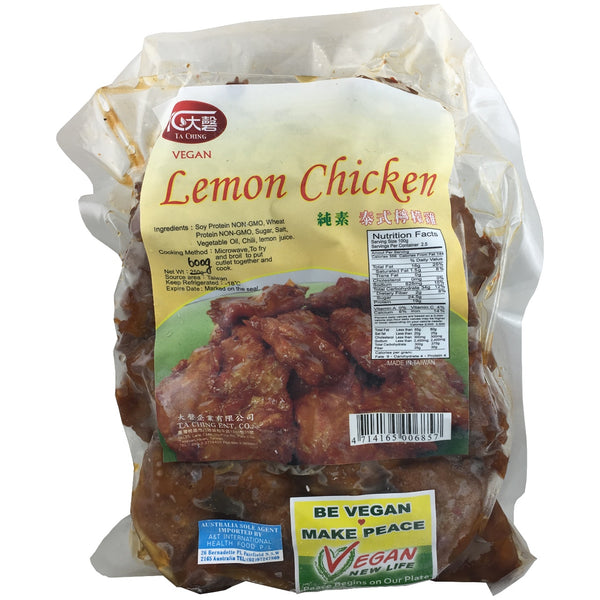 A & T Vegan Lemon Chicken