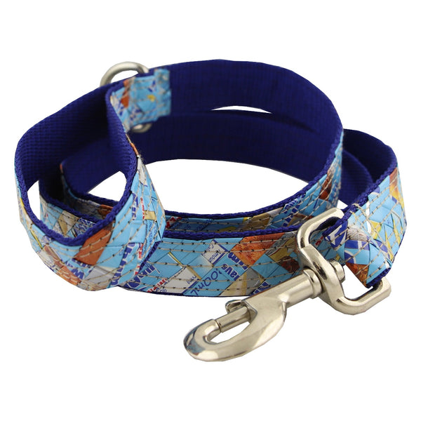 Real Animals Dog Lead 25mm -Double Blue