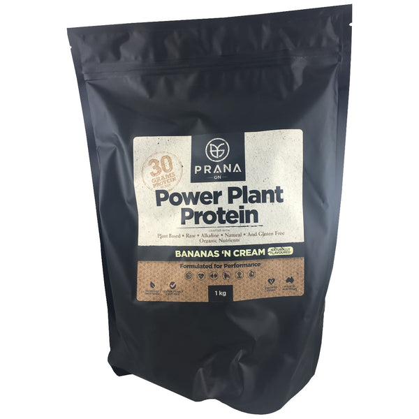 Prana Power Plant Protein - Bananas 'n Cream