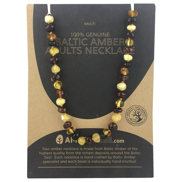 Amberbebe Necklace - Adult Multicolour