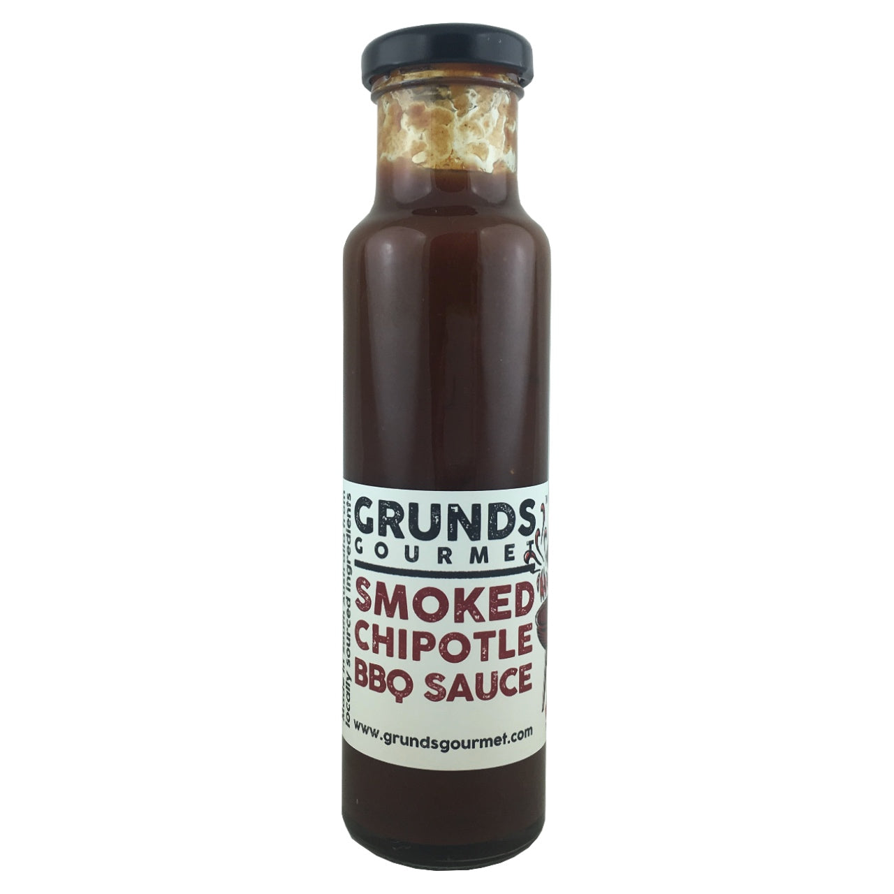 Grunds Gourmet Smoked Chipotle BBQ Sauce