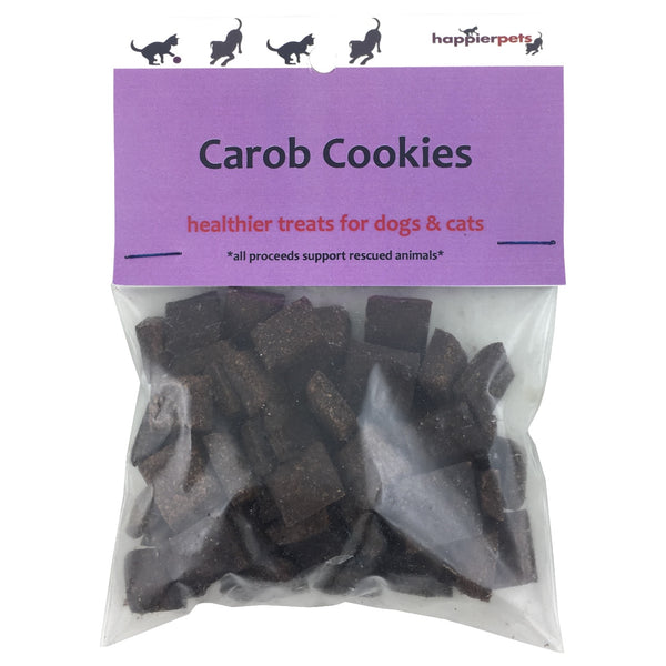 Happier Pets Carob Cookies (Small) for Dogs & Cats