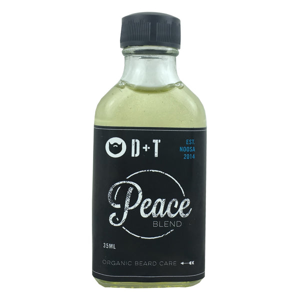 D and T Beard Oil -Peace