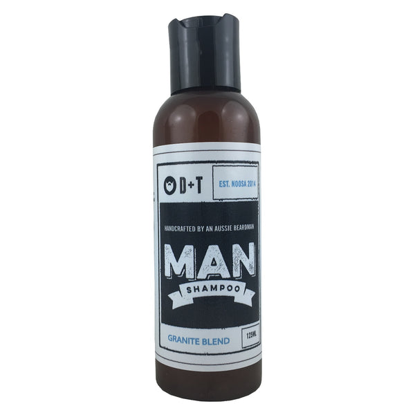 D and T Man Shampoo - Granite Blend