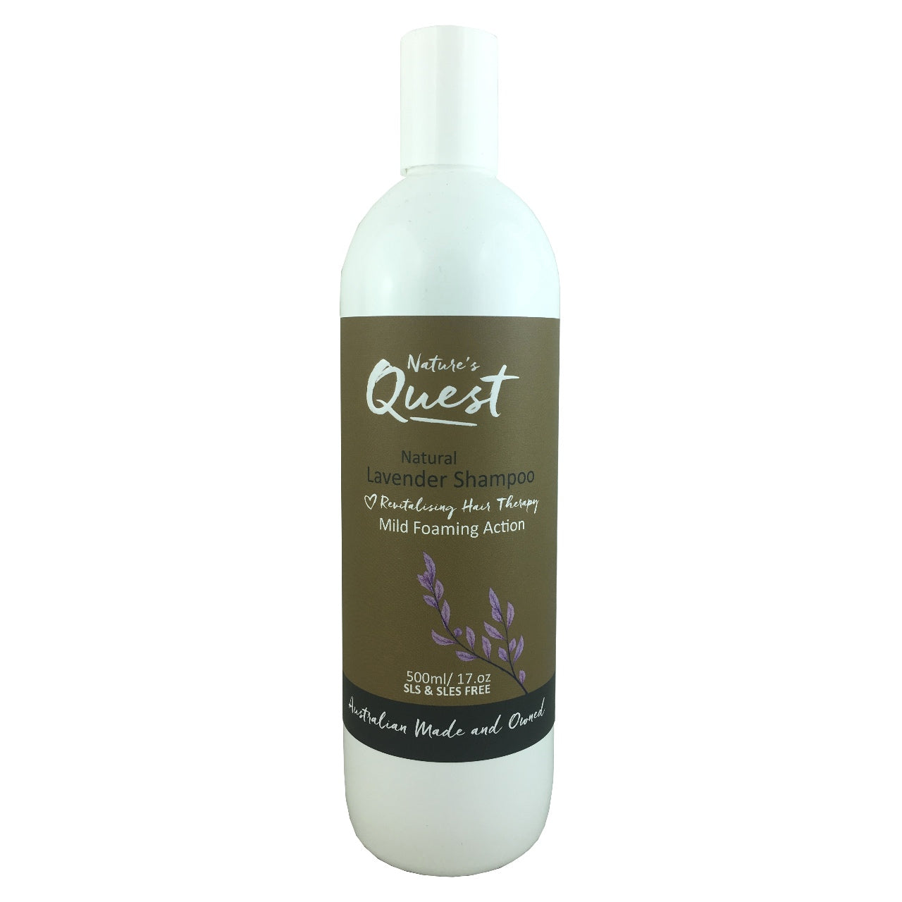 Nature's Quest Shampoo -Lavender