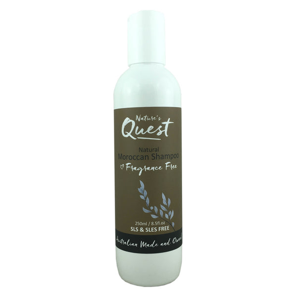 Nature's Quest Shampoo -Moroccan (Fragrance Free)