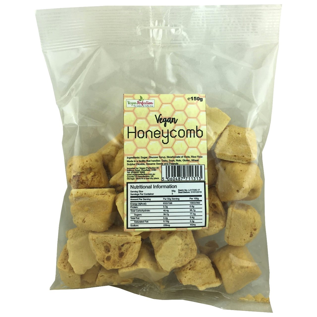Vegan Honeycomb
