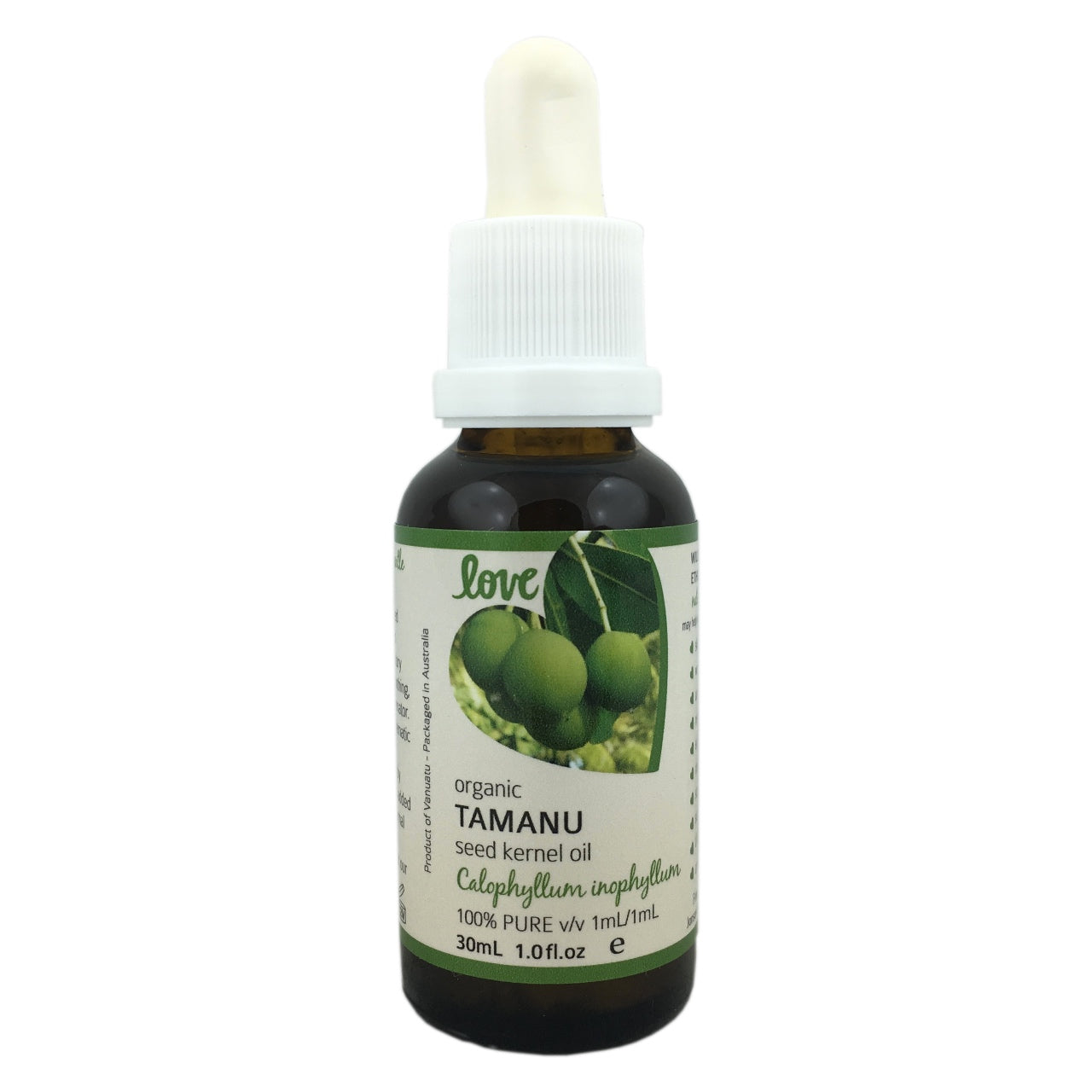 Love Certified Organic Tamanu Seed Oil