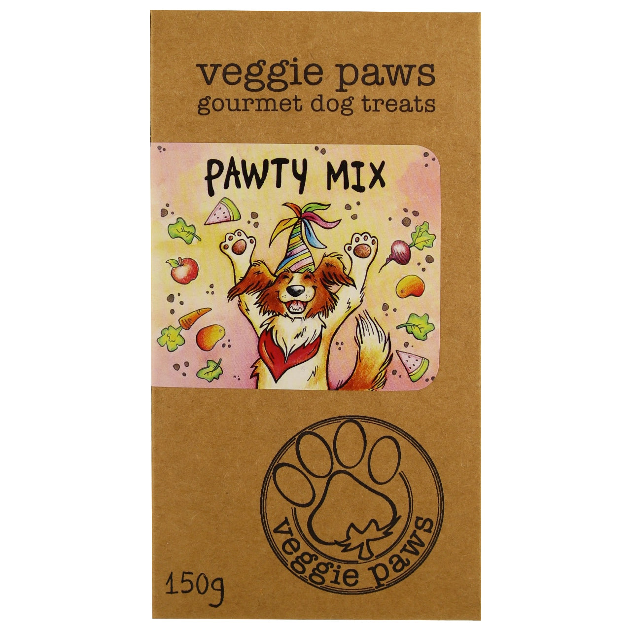 Veggie Paws Treat Pack -Pawty Mix