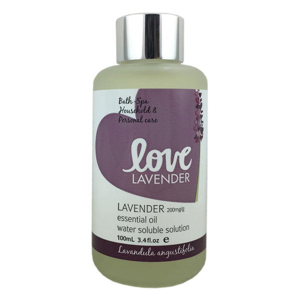 Love Lavender Essential Oil Water Soluble Solution