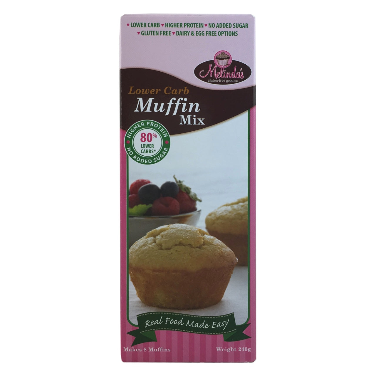 Melinda's Low Carb Muffin Mix - Use By:  30th October 2018