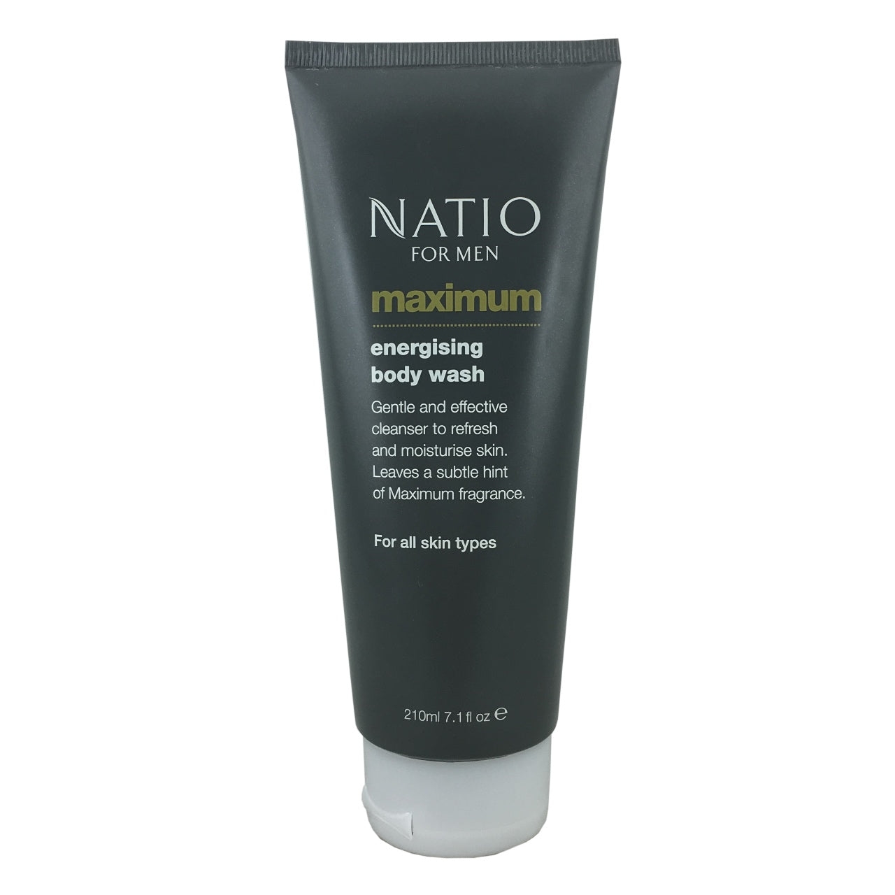 Natio For Men Maximum Energising Body Wash