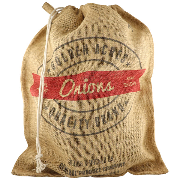 Retro Kitchen Onion Produce Sack