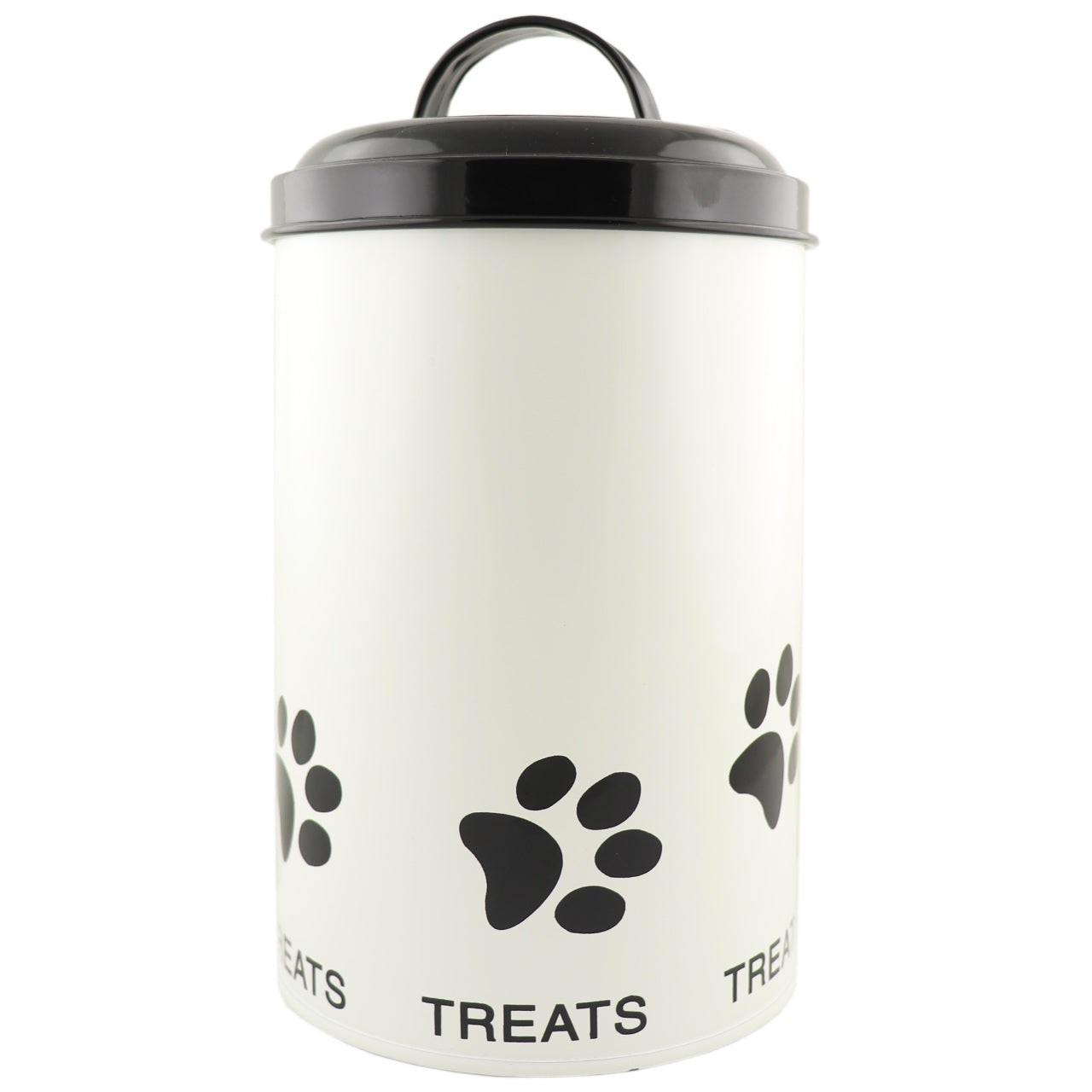 Retro Kitchen Pet Paw Treats Tin
