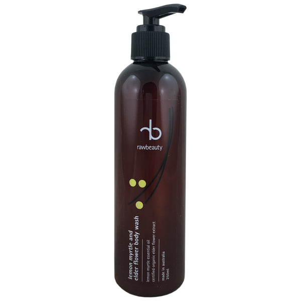 Raw Beauty Body Wash - Lemon Myrtle Elder Flower