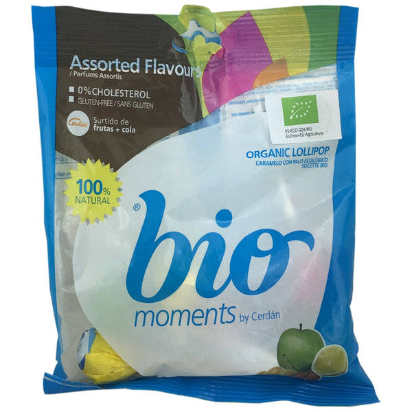 Bio Moments Round Lollipops (Best Before: 1st August 2018)