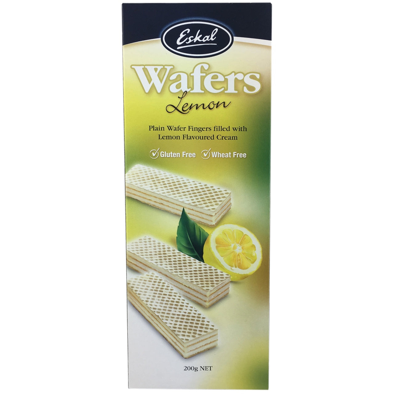 Eskal Lemon Cream Wafers