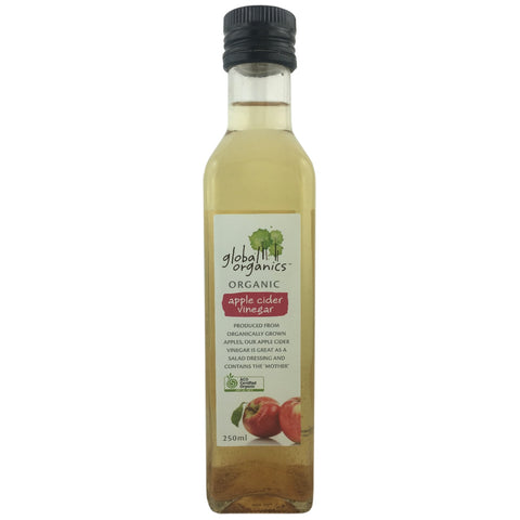 Global Organics Apple Cider Vinegar - BEST BEFORE 15th August 2019