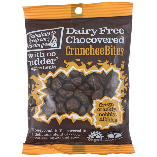 Fabulous Free From Factory Choc Covered Crunchee Bites