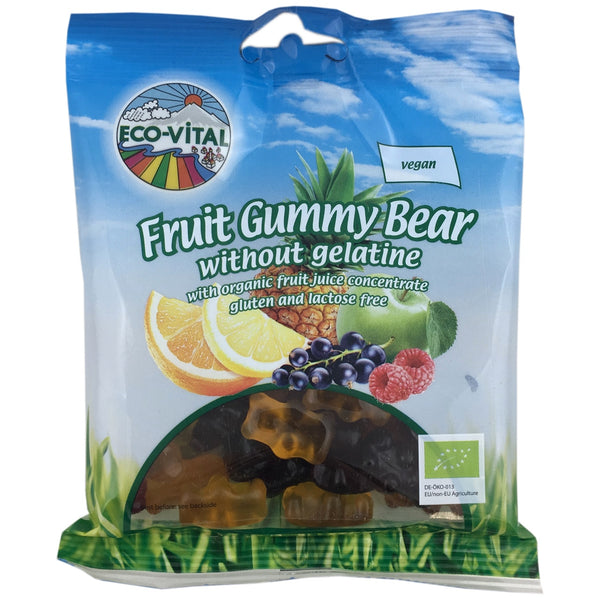 Eco Vital Organic Fruit Gummy Bears
