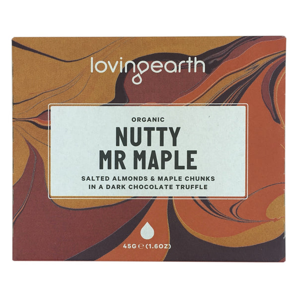 Loving Earth Nutty Mr Maple Chocolate