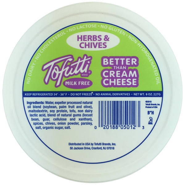 Tofutti Better than Cream Cheese - Herb & Chives